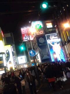 刺激的な大阪。