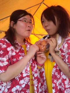 うぶこっこ家夏祭り2011①。