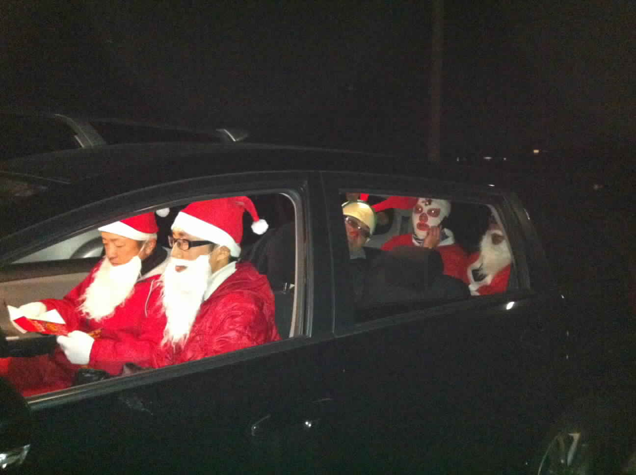 サンタクロース。